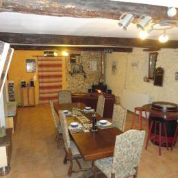 Salon a manger  - Chambre d'hôtes - Viella