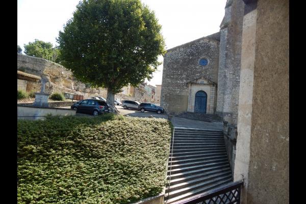 l'Eglise St Michel - Location de vacances - Mauvezin