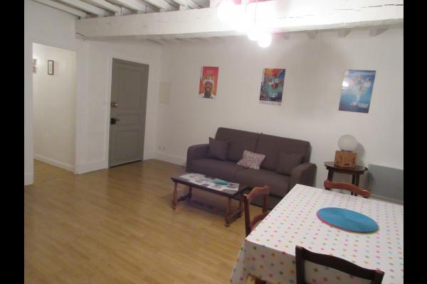 Séjour- Appartement 3, rue des écoles - Mirande - Location de vacances - Mirande