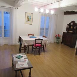 Photo appartement mirande coeur de ville salle de séjour salon - Location de vacances - Mirande