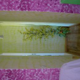 couloir qui mène à la salle d'eau - Chambre d'hôtes - Miélan