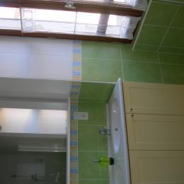 salle d'eau de la chambre - Chambre d'hôtes - Miélan