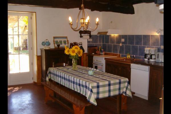cuisine Chez Grand père - Location de vacances - Bazian
