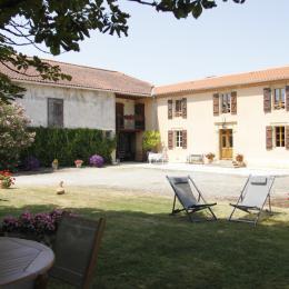 la maison et son parc - Location de vacances - Sainte-Dode