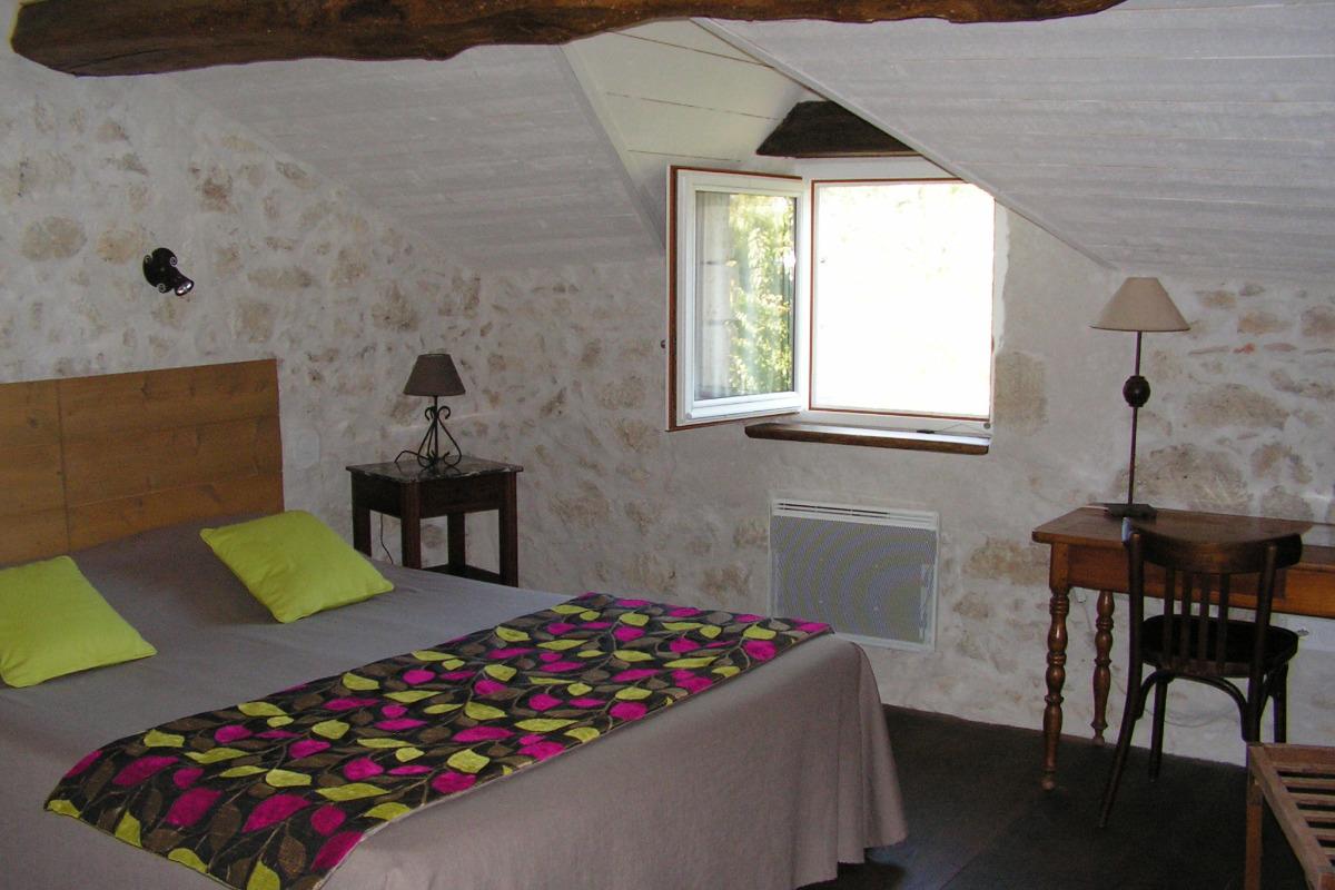chambre simple 1x(160x200) - Chambre d'hôtes - Lectoure