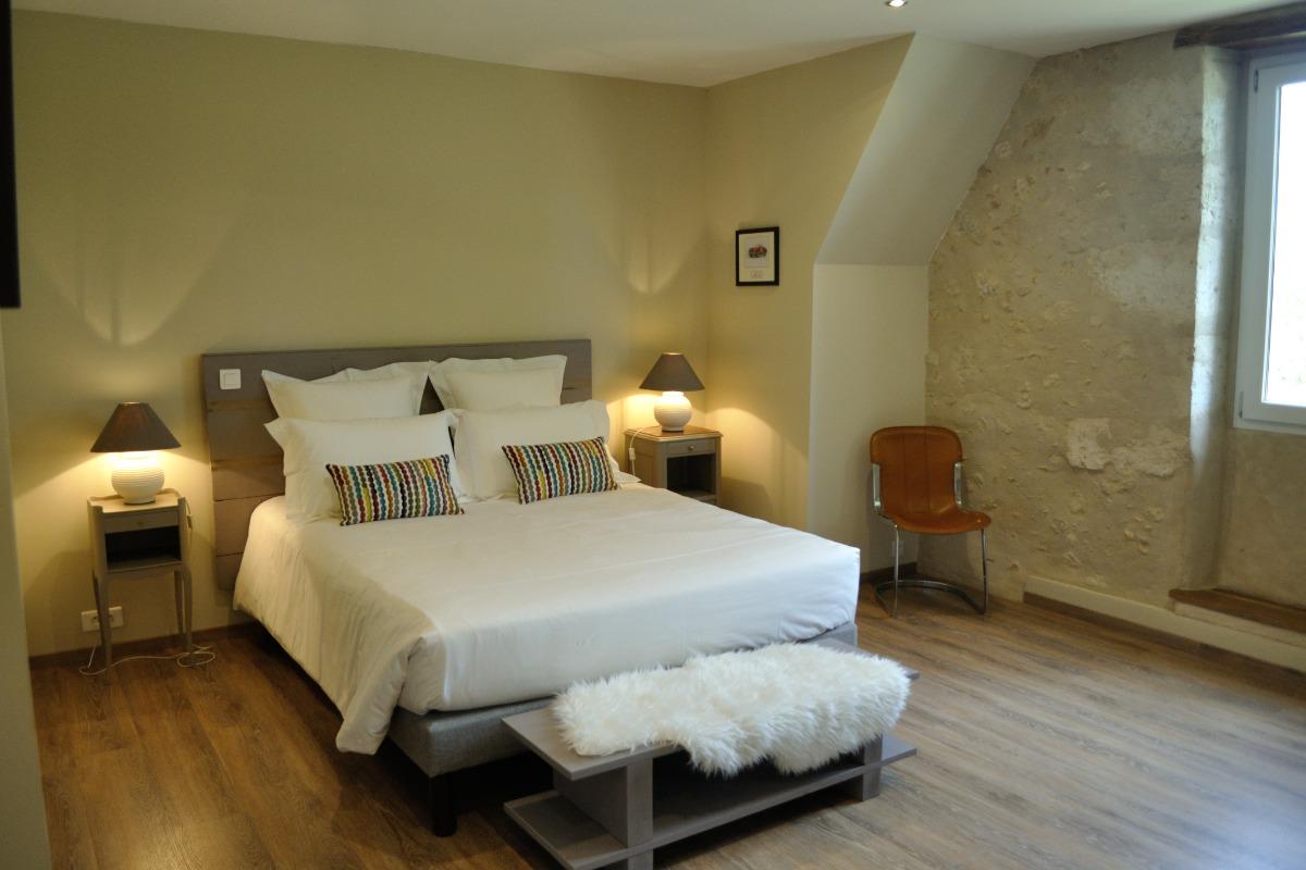 Lit 2P 1,60m x 2m - Chambre d'hôtes - Saint-Puy