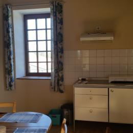 coin cuisine - Chambre d'hôtes - Magnas