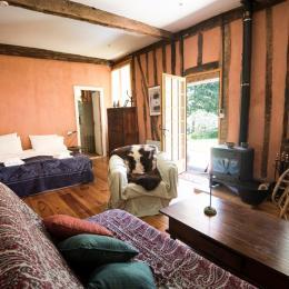 Premère chambre à coucher - Location de vacances - Berdoues