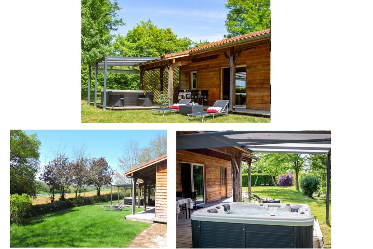 Gite Cèdre avec jacuzzi privatif - Location de vacances - Peyrusse-Grande