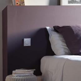 Chambre Côté prairie, spacieuse, grand lit confortable, salle d'eau et toilettes privatives - Chambre d'hôtes - Justian