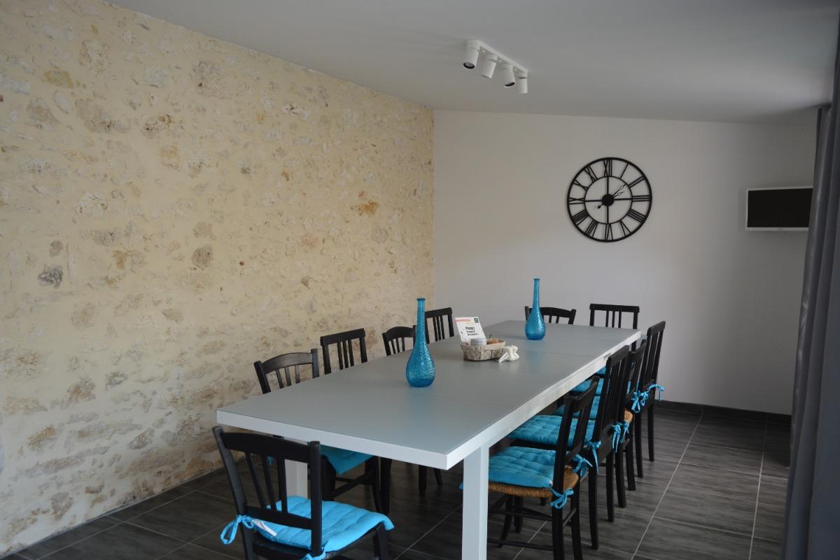salle à manger, terrasse, jardin - Location de vacances - Saint-Clar