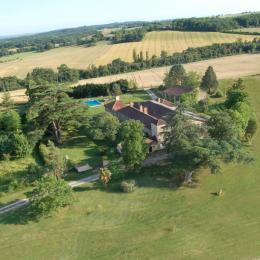 Vue Panoramique  - Chambre d'hôtes - Saint-Jean-Poutge