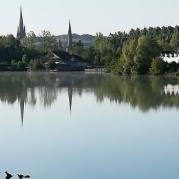 lac de Marciac à 200m du gite  - Location de vacances - Marciac