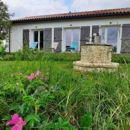 la piscine 10mx4m profondeur1.35m fond plat - Location de vacances - Lauraët