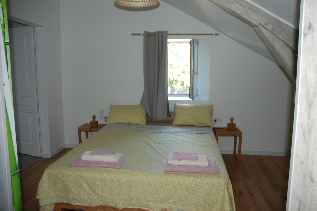 chambre zen - Chambre d'hôtes - Margouët-Meymes