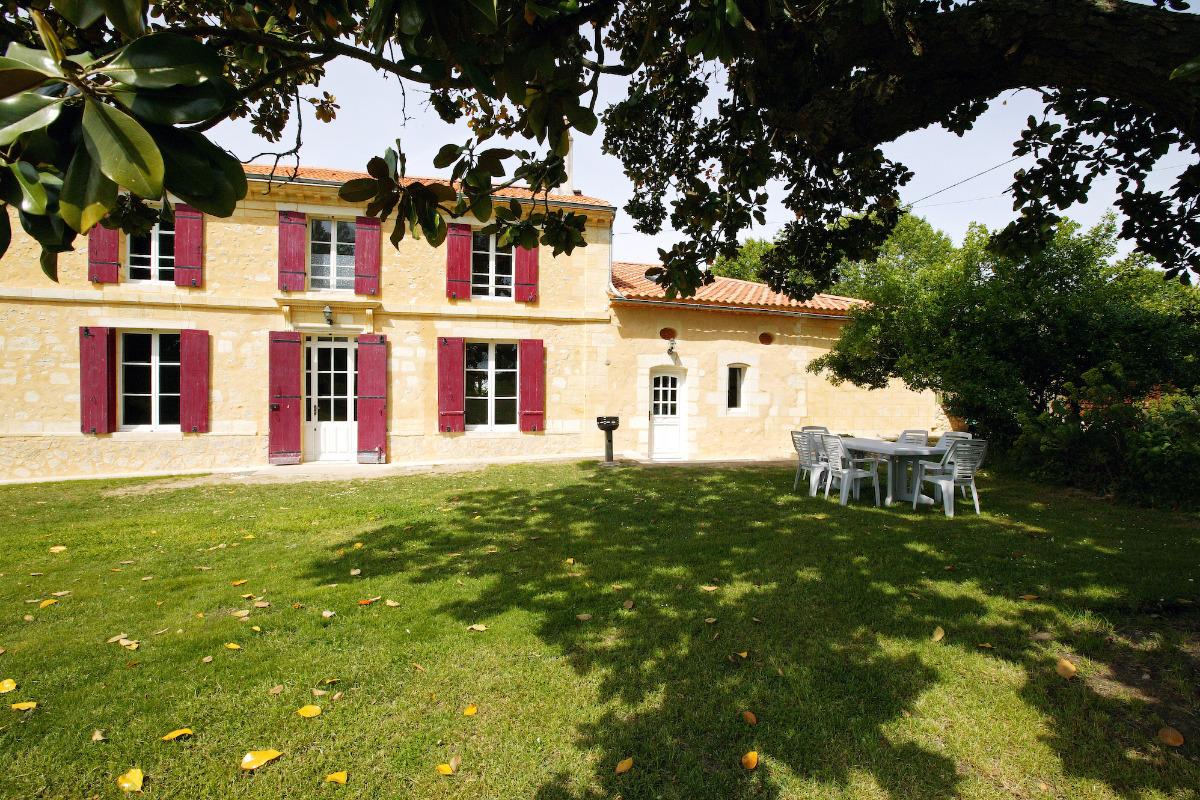 Facade Magnolia - Location de vacances - Saint-Caprais-de-Bordeaux