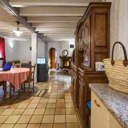 Chambre parents à l'étage - Location de vacances - Mios