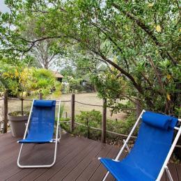Bassin d'Arcachon, Terrasse sur jardin - Location de vacances - Gujan-Mestras
