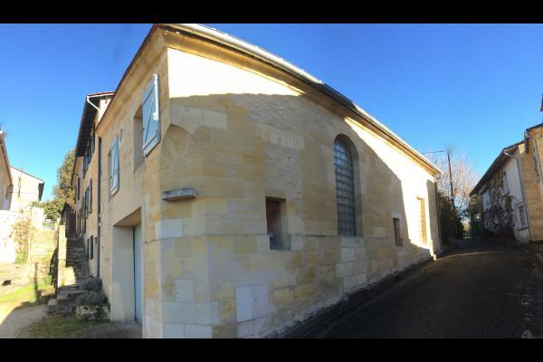Maison en pierre sur deux niveaux - Location de vacances - Haux