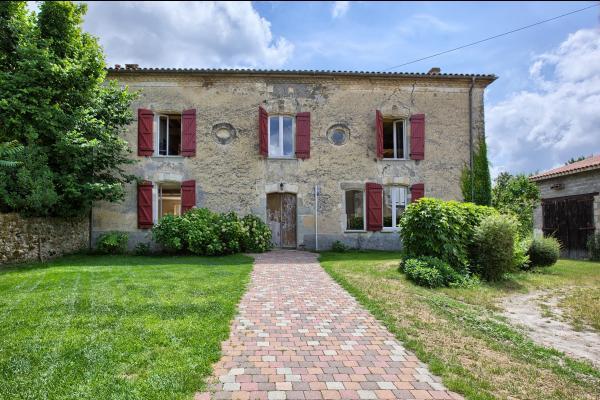 Rouge Bordeaux - Chambre Verte, Chambres d\'hôte à Auros - Clévacances
