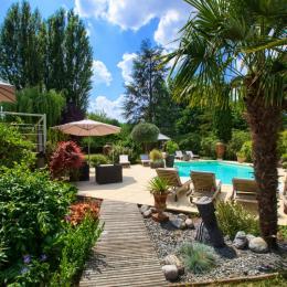 La closerie vu du jardin - Chambre d'hôtes - Sadirac