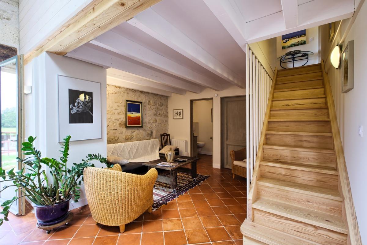 Suite Isandra, mezzanine / Isandra suite, top floor - Chambre d'hôtes - Vérac