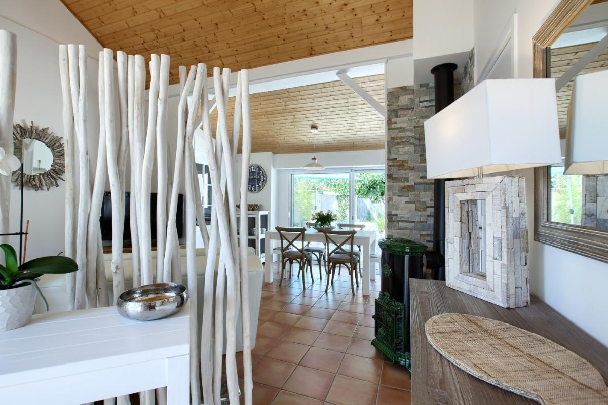 Deux grandes terrasses extérieures pour profiter du beau temps au maximum - Location de vacances - Andernos-les-Bains