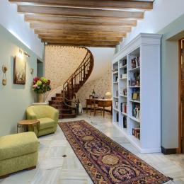 Entrée principale (monte-escalier) - Location de vacances - Saint-Hippolyte