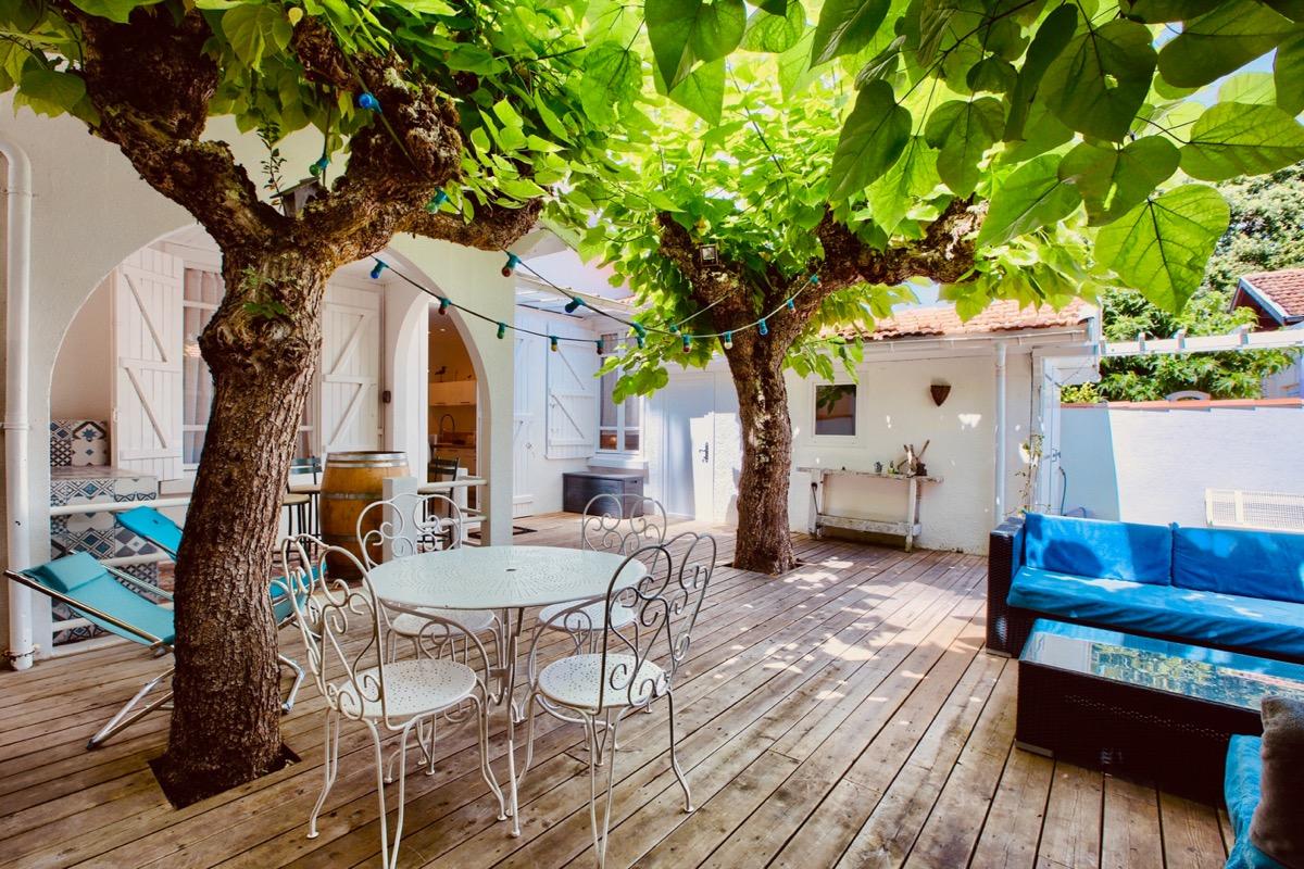 JARDIN TERRASSE - Location de vacances - Andernos-les-Bains