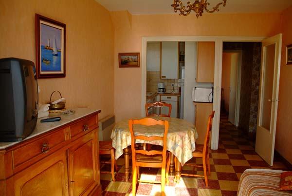 Salon TV séjour  - Location de vacances - VALRAS-PLAGE