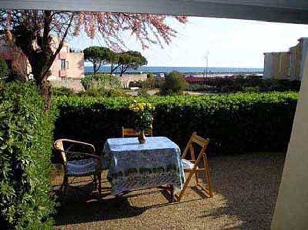 terrasse avec vue sur mer - Location de vacances - Sète