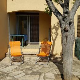 Jardinet et Loggia - Location de vacances - Valras-Plage