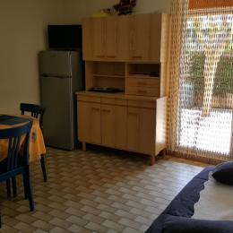 salon - séjour - Location de vacances - VALRAS-PLAGE