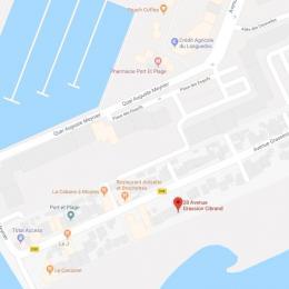 Plan - Location de vacances - CARNON PLAGE