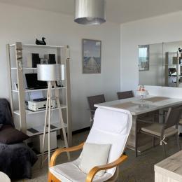 accès direct privé plage, face balcon appartement - Location de vacances - Valras-Plage
