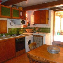 Séjour /cuisine - Location de vacances - Saint-Privat