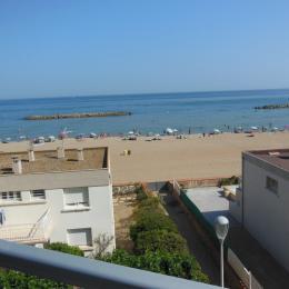 Clair de lune du balcon - Location de vacances - VALRAS-PLAGE