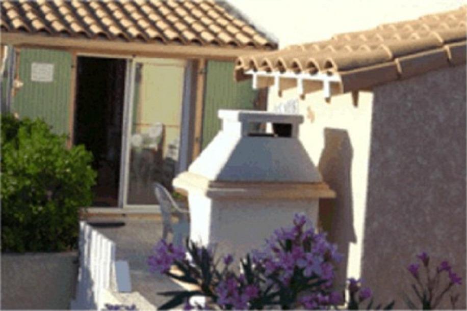 Terrasse sans vis-à-vis - Location de vacances - Portiragnes-Plage