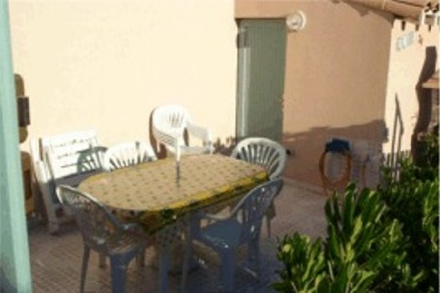 Terrasse ensoleillée et tranquille. - Location de vacances - Portiragnes-Plage