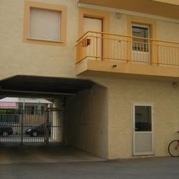 entrée sécurisé de résidence et parking - Location de vacances - PALAVAS-LES-FLOTS