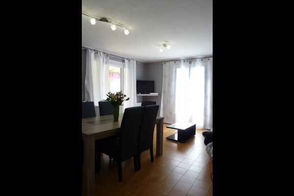 Salon TV séjour  - Location de vacances - Montagnac