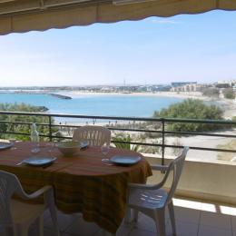 Façade de la résidence - Location de vacances - Sète