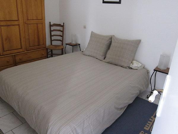 chambre double - Location de vacances - Neffiès