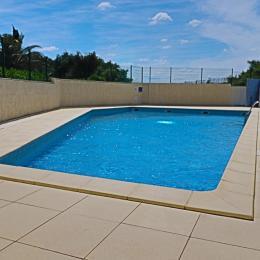 Piscine de la résidence - Location de vacances - Sète