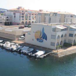 Vue de la loggia - Location de vacances - Sète