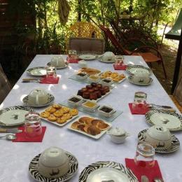 Petit déjeuner - Chambre d'hôtes - Béziers