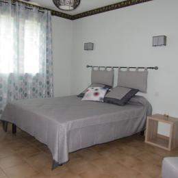 chambre lit en 160 cm - Location de vacances - Campagne