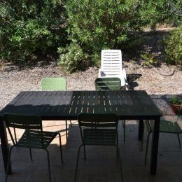 salon de jardin - Location de vacances - Béziers