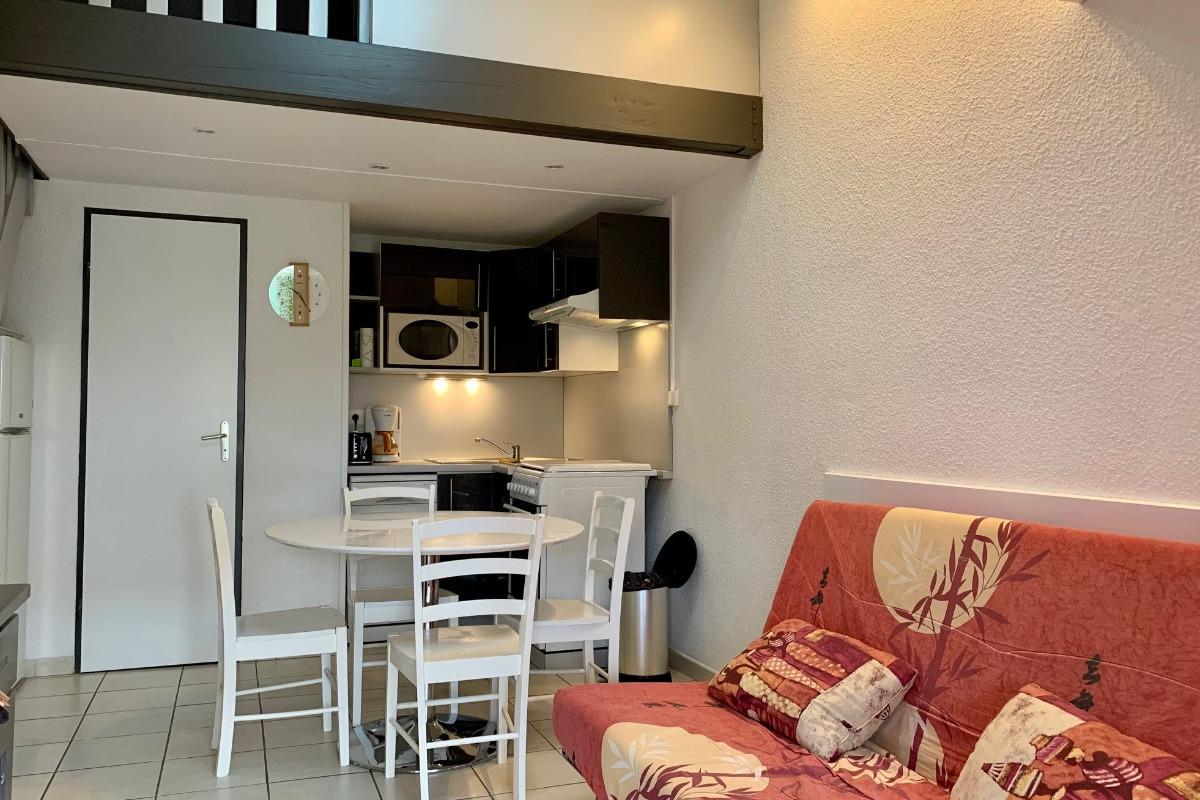salle à vivre - Location de vacances - Loupian