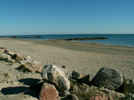 large plage sable fin - Location de vacances - FRONTIGNAN-PLAGE